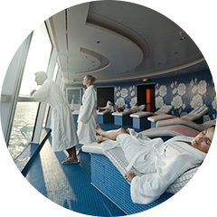 UNWIND IN THE SPA WITH SHIPBOARD CREDITS