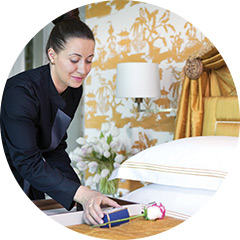 UNSURPASSED ELEGANCE, SERVICE, AND LUXURY ACCOMMODATIONS