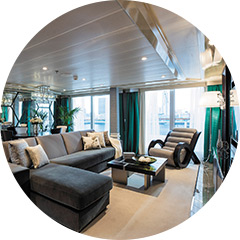 LIVE GLAMOROUSLY: CHIC SHIPS WITH NEWLY REFRESHED, MODERN DECOR